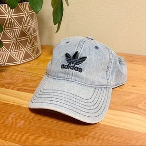 adidas • Trefoil Baseball Cap Relaxed Denim